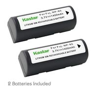 2x Kastar Battery For Fujifilm Np-80 Kyocera Microelite 3300 Leica Digilux Zoom