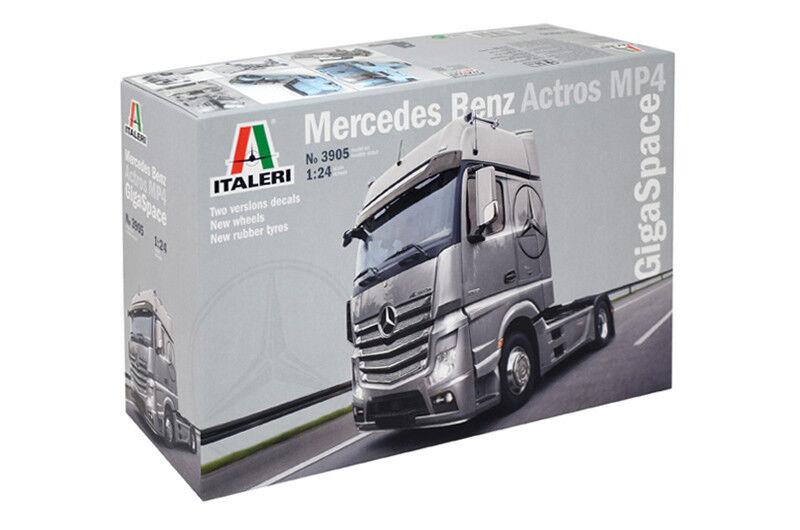 Mercedes Benz Actros Mp4 Gigaspace Kit Italeri 1 24 IT3905 IT3905 IT3905 000521