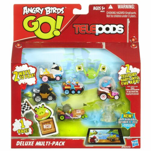 BRAND NEW Angry Birds GO Telepods Deluxe Multi-Pack with STELLA Kart