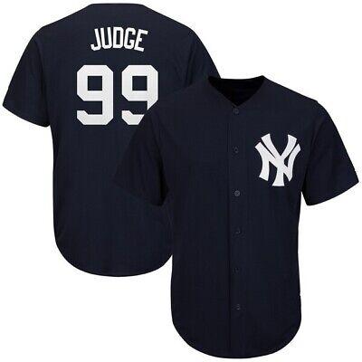 Aaron Judge #99 New York Yankees Cool Base Navy Baseball Jersey Mlb Trikot