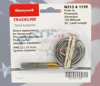 Honeywell Q313a1139 750 Mv Thermopile, 35 Long. With Push-in Clip.