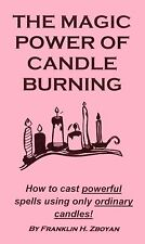 THE MAGIC POWER OF CANDLE BURNING book spellbook magick occult + FREE GIFT!!!!