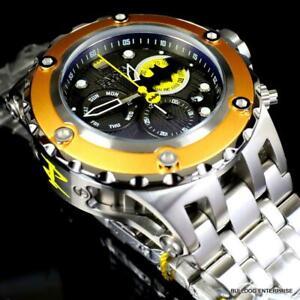 Invicta Reserve DC Comics Batman Subaqua Specialty Steel Swiss 52mm Watch New
