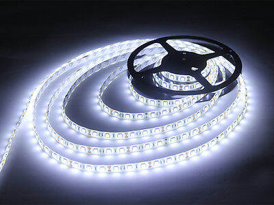 1M 3M 5M 3528 /5050 waterproof cool white LED strip light for Supermarket/TV/Car