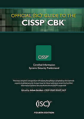 1 of 1 - Official (ISC)2 Guide to the CISSP CBK 2015 NEVER USED