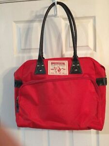 Large Red Shoulder Handbag Purse