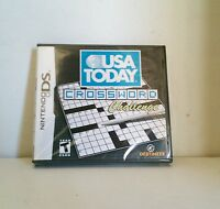 Usa Today Crosswords Nintendo Ds Lite Dsi Xl 3ds 2ds Sealed
