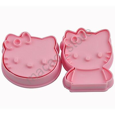 Cartoon Cookie Biscuit Plunger Cutter Mold Fondant Cake Decorating Paste Tools