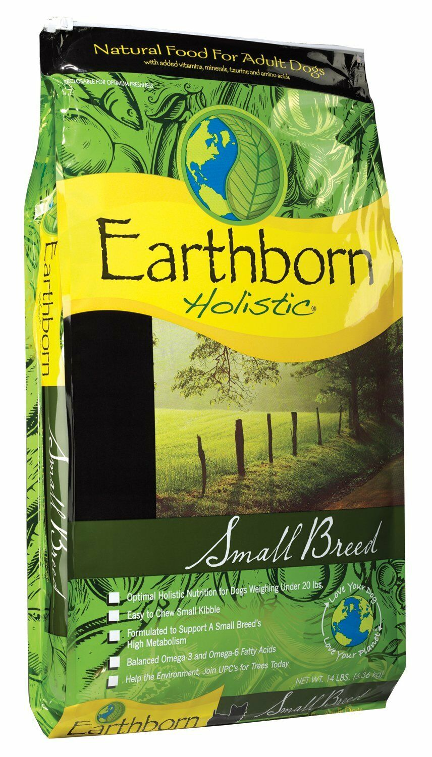 EARTHBORN Small Breed Dry Dog Food (14 lb)