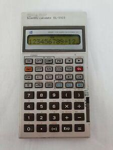 alter-Taschenrechner-Sharp-Scientific-Calculator-EL-5103