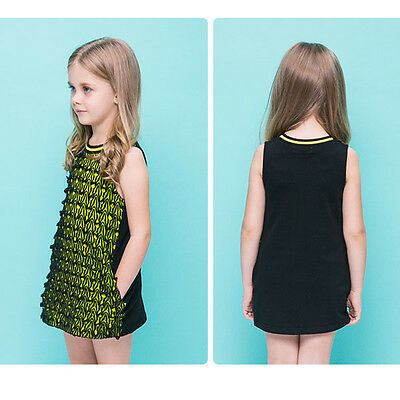 New Girl Fashion Dress One piece for Party Birthday Gift size 2,3,4,5,6