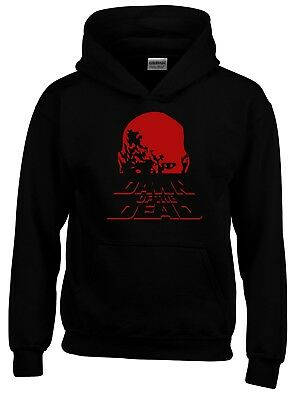 Dawn of the Dead Zombie 80s Movie Inspired Mens Hoodie