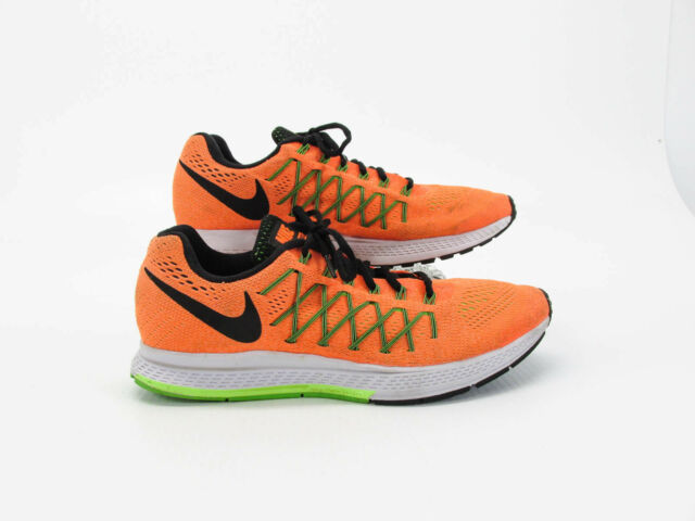 794fcb8be51a Nike Air Zoom Pegasus 32 Men Orange Running Shoes Size 10M Pre Owned JJ