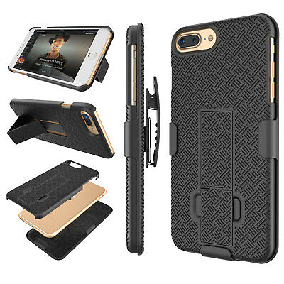 low priced 1a0c9 cbfcc FOR IPHONE 6 / 6S PLUS HOLSTER BELT CLIP COMBO CASE COVER WITH KICKSTAND  SHELL   eBay
