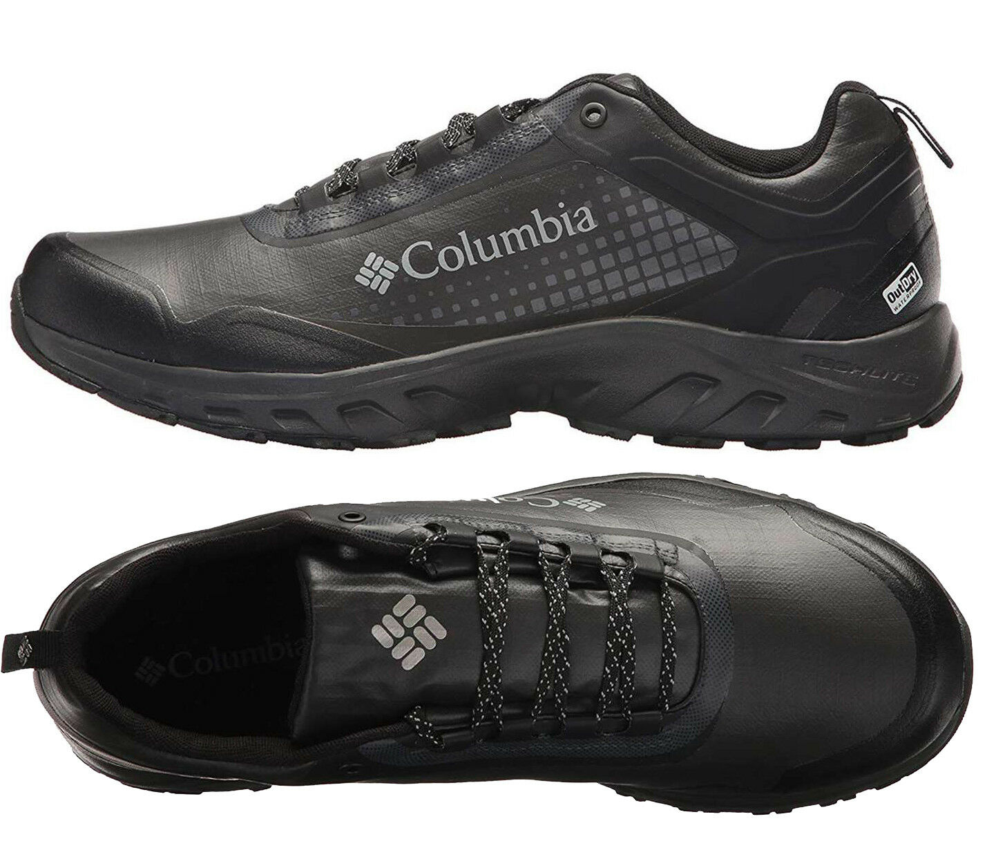 Mens Columbia IRRIGON TRAIN OUTDRY XTRM Black Hiking shoes NEW