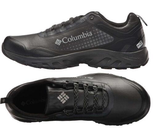 Mens Columbia IRRIGON TRAIN OUTDRY XTRM Black Hiking Shoes NEW