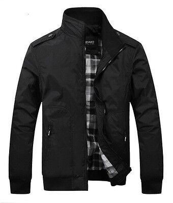 New Spring Men's jackets fashion casual jacket coats collar Slim Short thin coat