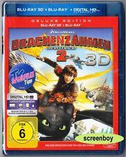 """DRACHENZÄHMEN LEICHT GEMACHT 2"" - DreamWorks Animation - BLU RAY 3D + 2D"