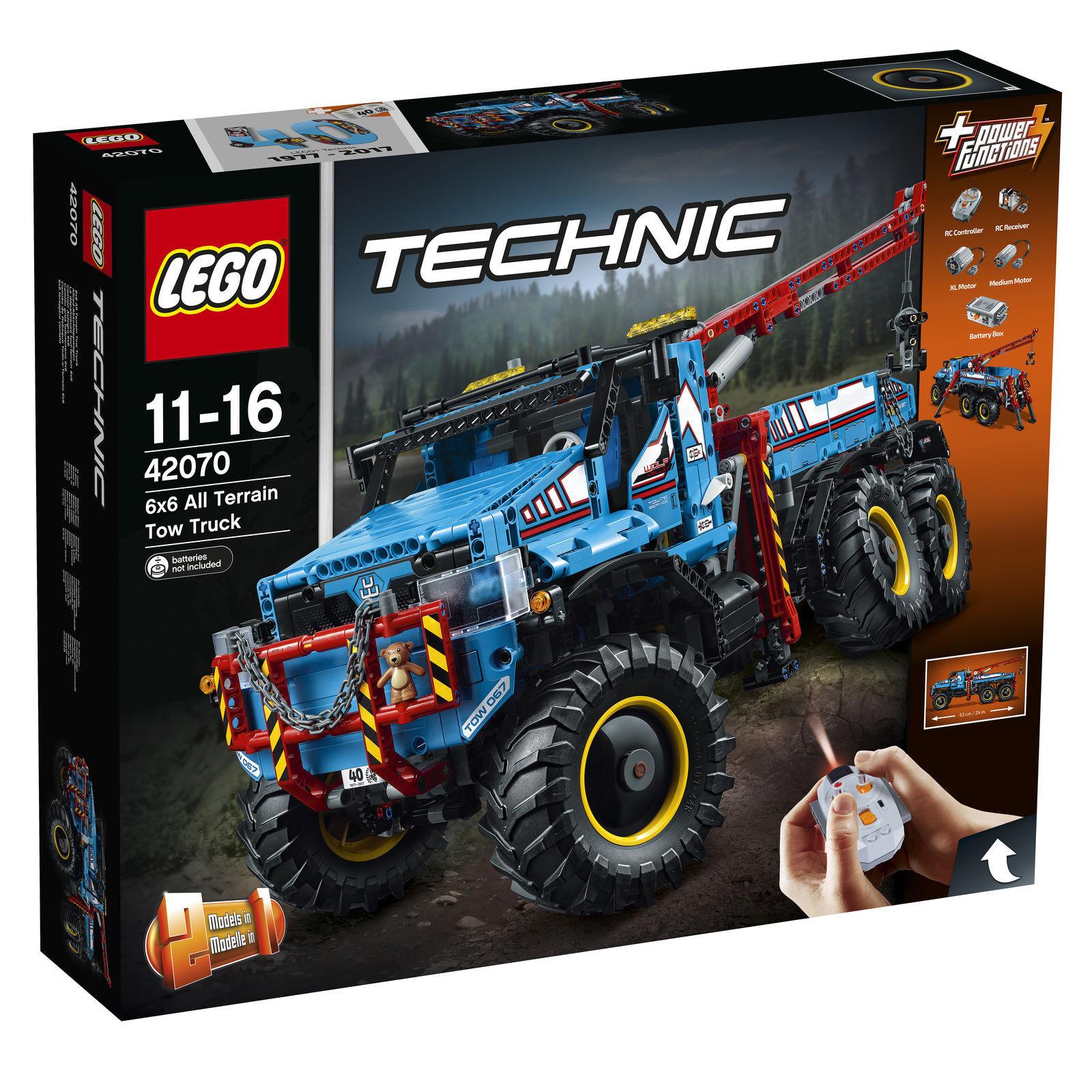 LEGO Technic Allrad-Abschleppwagen_6x6 All Terrain Tow Truck (42070) NEW NEU