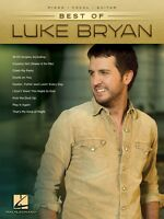 Best Of Luke Bryan Sheet Music Piano Vocal Guitar Songbook 000221889