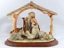 Giuseppe Armani 1982 HOLY FAMILY NATIVITY SCENE Figurine - Signed