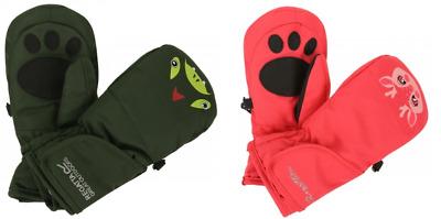 Regatta Spatter III Kids Waterproof Hydrafort Warm Mitt Gloves