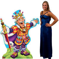 Candy Land King Candy Standee King Dressed In His Colorful Robe Candyland