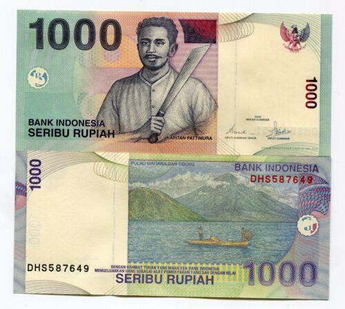 INDONESIA 1000 Rupiah 2000 Pick 141a UNC