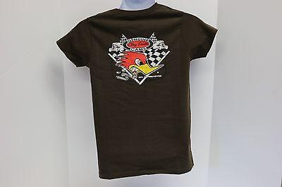 "Clay Smith Cams /""Classic Logo/"" White Ladies Women/'s T-Shirt Mr Horsepower W104"