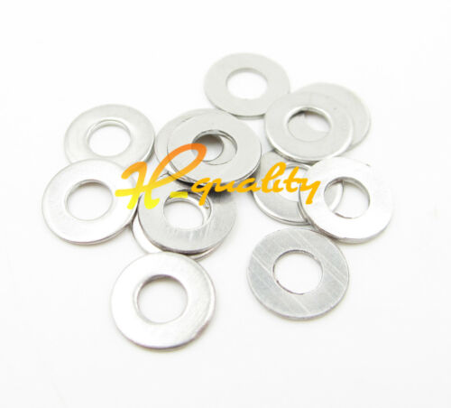 100PCS M3 Stainless Steel Metric Flat Washer//Washers