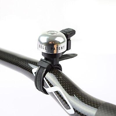 Black New Bike Bicycle Bar Strape type Bell Ding Ring