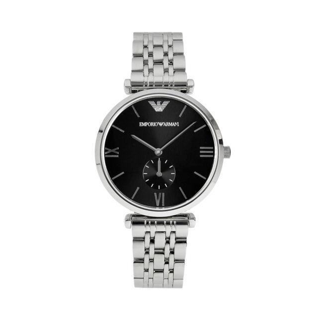 New Men's Emporio Armani AR1676 Watch Tags Warranty Box RRP $449