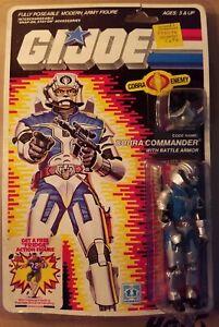 1986-Hasbro-Gi-Joe-Cobra-Commander-Battle-Armor-un-veritable-heros-americain-Comme-neuf-on-Card