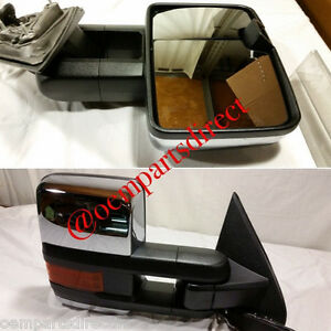 2014 2015 chevrolet silverado gmc sierra hd powerfold tow mirror oem 2500hd new. Black Bedroom Furniture Sets. Home Design Ideas