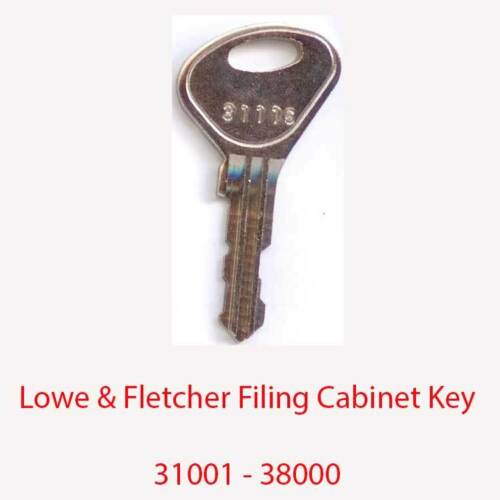 LOWE /& Fletcher RICAMBIO deposito ARMADIETTO CHIAVE 31001-38000