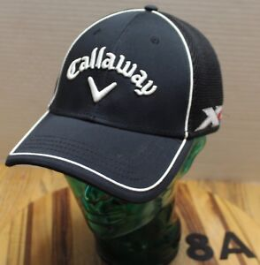 Image is loading CALLAWAY-XR-ODYSSEY-GOLF-HAT-BLACK-EMBROIDERED-SIZE- b66d2158e70