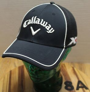 Image is loading CALLAWAY-XR-ODYSSEY-GOLF-HAT-BLACK-EMBROIDERED-SIZE- 76580648494