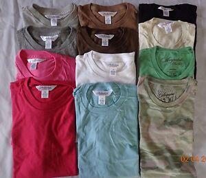 1-New-Women-039-s-Aeropostale-Style-Boyfriend-or-Babytee-Tee-T-Shirt-Size-Medium