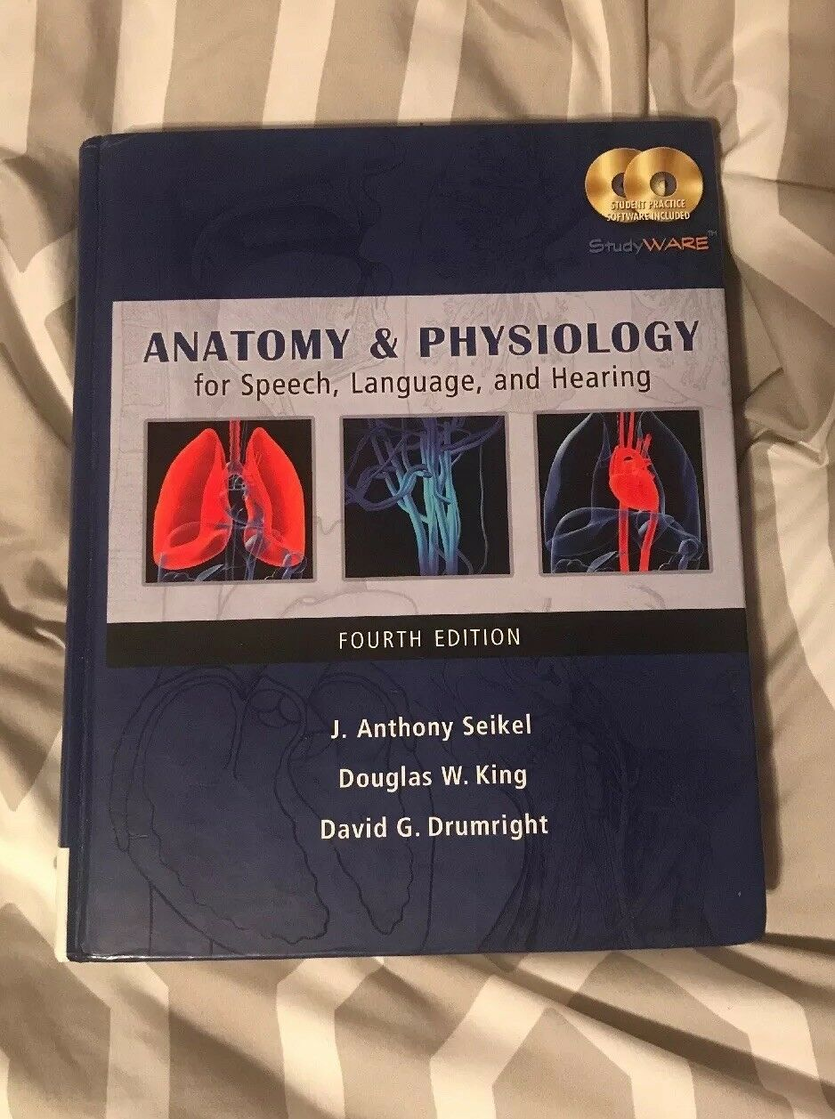 Anatomy and Physiology for Speech, Language, and Hearing by David G ...