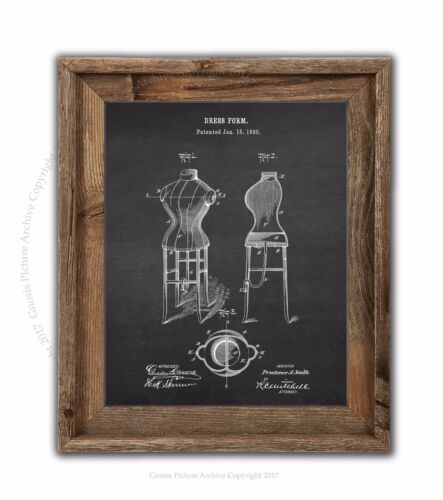 Dress Form Decor Art Print #4 Unframed Art Fashion Designer Gift Idea