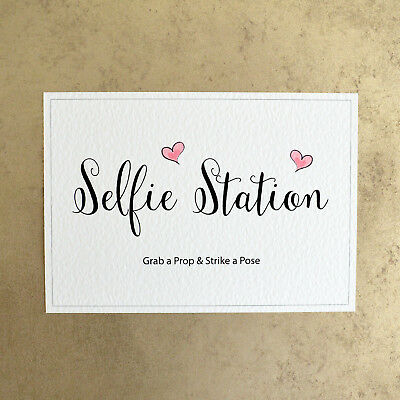 picture relating to Selfie Station Sign Free Printable referred to as Selfie Station Seize a Prop Hit a Pose - Photograph Booth Wedding day Signal - Crimson eBay