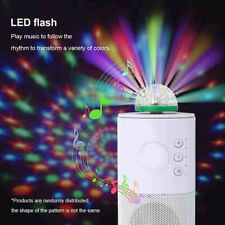 Mini USB RGB LED Stage Lamp Remote Controls Disco Ball Lights Home Car Party
