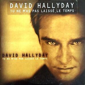 David-Hallyday-CD-Single-Tu-Ne-M-039-As-Pas-Laisse-Le-Temps-France-EX-EX
