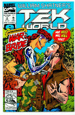 <•.•> WILLIAM SHATNER'S TEK WORLD (TEKWORLD) • Issue 4 • Marvel Comics