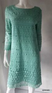 Uk6 Robe Neuf Donna Hallhuber 34 10 Couleur Gr Crochet Opale 36 38 Au 8 Dentelle FPRnxRw6
