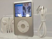 Apple iPod Classic 6th Generation Silver / White (80GB) - PRISTINE
