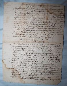 Rare Post Revolutionary War Letter Mount Vernon George Washington Translator Ebay