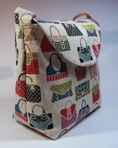Unique Present or Just For You Bespoke Handmade Handbag Design Handbag Lined