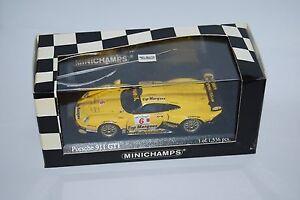 MINICHAMPS-PORSCHE-911-GT1-DE-1996-400996606-NEUF-BOITE-NEW-BOX-1-43-TRES-RARE