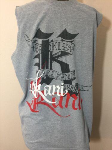 Karl Kani Mens Sleeveless Tshirt Size M